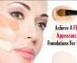Best Foundation For Large Pores And Oily Skin